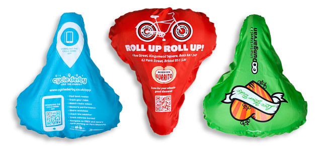 Custom Bike Saddle Covers | OnYerBikeSeat Product