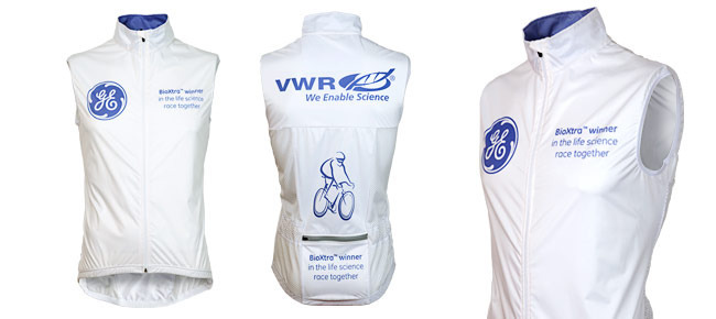 Custom Cycling Gilet | OnYerBikeSeat Product