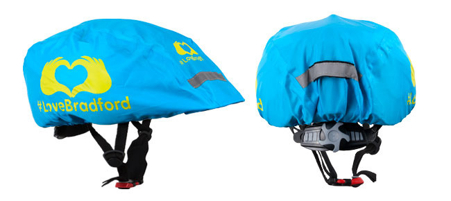 Cycle Helmet Cover | OnYerBikeSeat Product